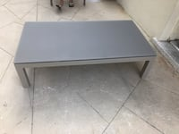 New Palermo aluminum Coffee table khaki GAR LIVING