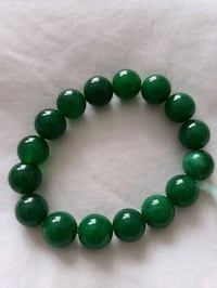 BRACELET GOOD LUCK HIGH QUALITY GREEN JADE  Toronto, M9C 1C6