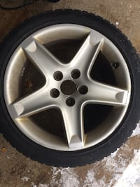 Snow tires with rims 225/45 R17