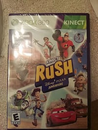 Rush game for X Box 360 Atlanta, 30349
