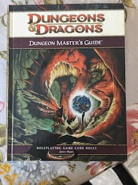 Dungeons Dragons Dungeons Master guides Roleplaying game core rules