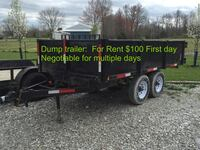 Dump trailer 6ft by 12ft  North Vernon