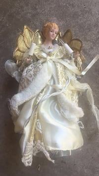 white and brown dressed doll Hamilton