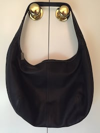 Genuine coach black leather hobo bag Fairfax, 22032