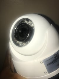 White HD security cameras  New York, 11429