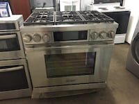 """Dacor 36"""" Dual Fuel Stove Knoxville"""