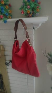 women's coral and brown hand bag Bakersfield, 93305