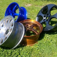 wheel refinishing  Simcoe County