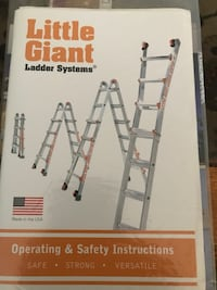 Giant Ladder Foldable Expandable New in Box Haymarket, 20169