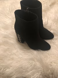 Pair of black suede boots Seal Beach, 90740
