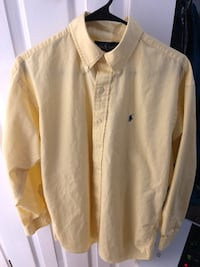 Medium Ralph Lauren Yellow Button-up Springfield, 22152