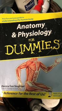 Anatomy & Physiology for Dummies book Brookhaven, 11720