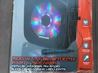 Party speaker 1500 watt with light, radio and remote Mississauga, L5A 3G2