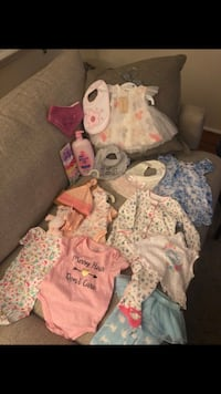 New baby girl clothes & accessories Altadena, 91001