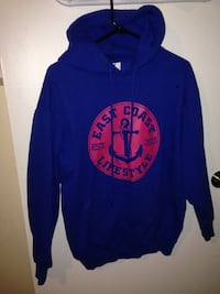 blue and red pullover hoodie Moncton, E1C 6N5