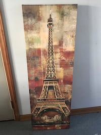 Paris themes wall decor paid $60 for it Millers Creek, 28651