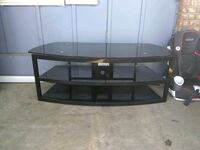 black glass top TV stand Olympia, 98503