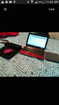 black and red laptop computer Merced, 95341