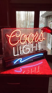 Coors Light Sign Youngstown, 44512