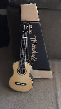 New Brown and black Ukulele Norfolk, 23462