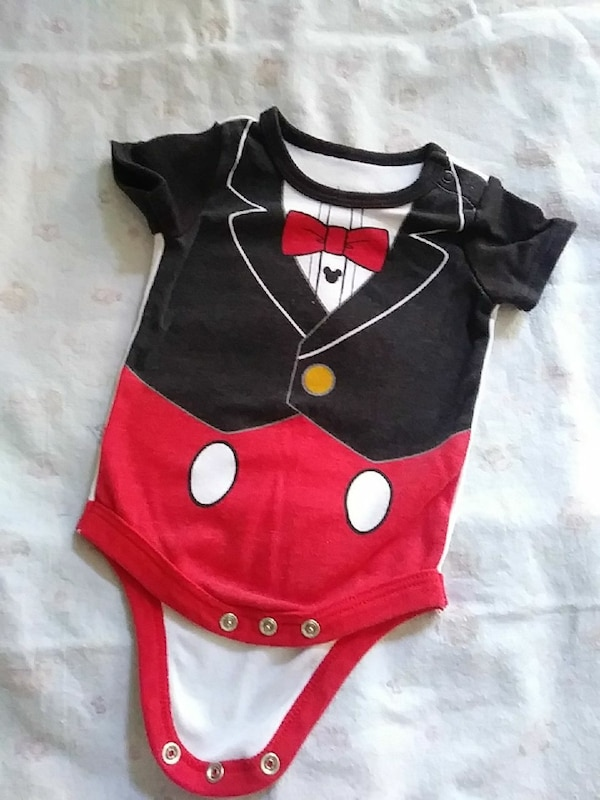 614c8d86bce Used Debunare Mickey Onesie 0-3 Months for sale in St. Louis - letgo