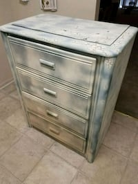 gray wooden 3-drawer chest Montgomery County, 20862