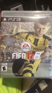 Fifa 17 sony ps3 game Gatineau, J8P 7T1
