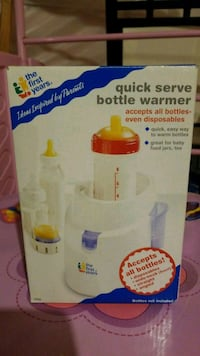 white and pink plastic bottle warmer box Mississauga, L5M 0B7