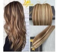 Real human Brazilian AAA Hair extensions colour P8/613 Dollard-des-Ormeaux, H8Y