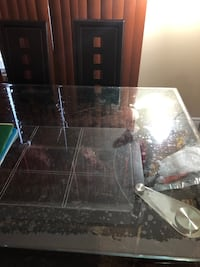 Glass top dinning table  Cambridge, N1T 1X6