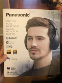 Panasonic Wireless Noise Cancelling Headphones, Black (RPHD610NK) Toronto, M5V 2T6