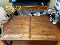 brown wooden bed frame with mattress Ashburn, 20147