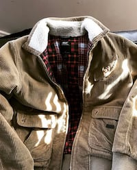 Diesel Brown zip jacket
