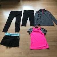 Lot of girls dance wear - Youth L - Adult Small Victoria