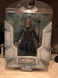 BNIP Star Trek Nemesis Viceroy action figure Surrey, V3V