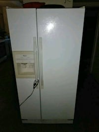 white side-by-side refrigerator with dispenser Indio, 92201
