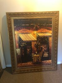 Canvas painting with frame  Kettering, 45440