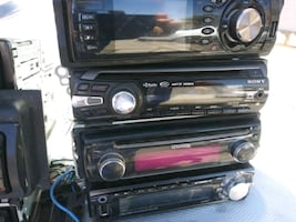 Too many to choose fCD car stereos with uSB port complete with harness