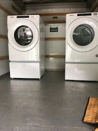 Whirlpool frontload washer and dryer