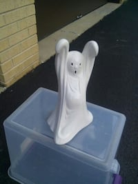 white ceramic ghost Tinley Park