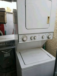 24 inches stackable washer and gas dryer