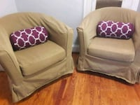 Set of 2 club chairs Chicago, 60659