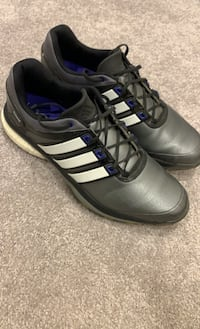 Adidas Golf Shoes Size 12 Men's. Grey Purple. Adipower Boost Frederick, 21704