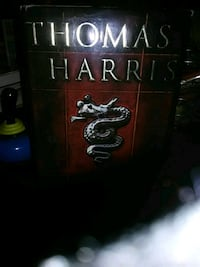 Thomas Harris boof 15.00. Or best offer Hagerstown