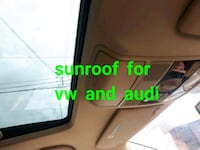 Sunroof for VW and audio  Toronto, M3J 2B9