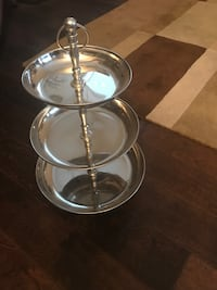 Tiered Metal Tray