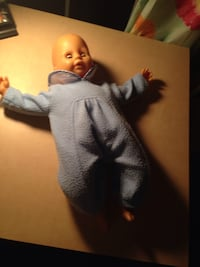 Baby doll dressed in blue jumper Germantown, 20874