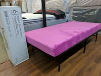 New Youth twin/full size gel memory foam mattress 86 km