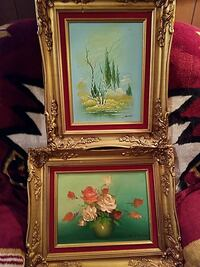 Vintage oil paintings  Buena Vista
