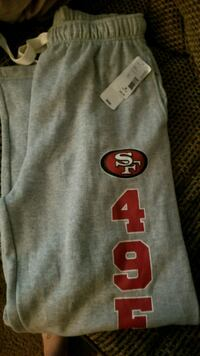gray and red San Francisco 49ers jersey Oakley, 94561